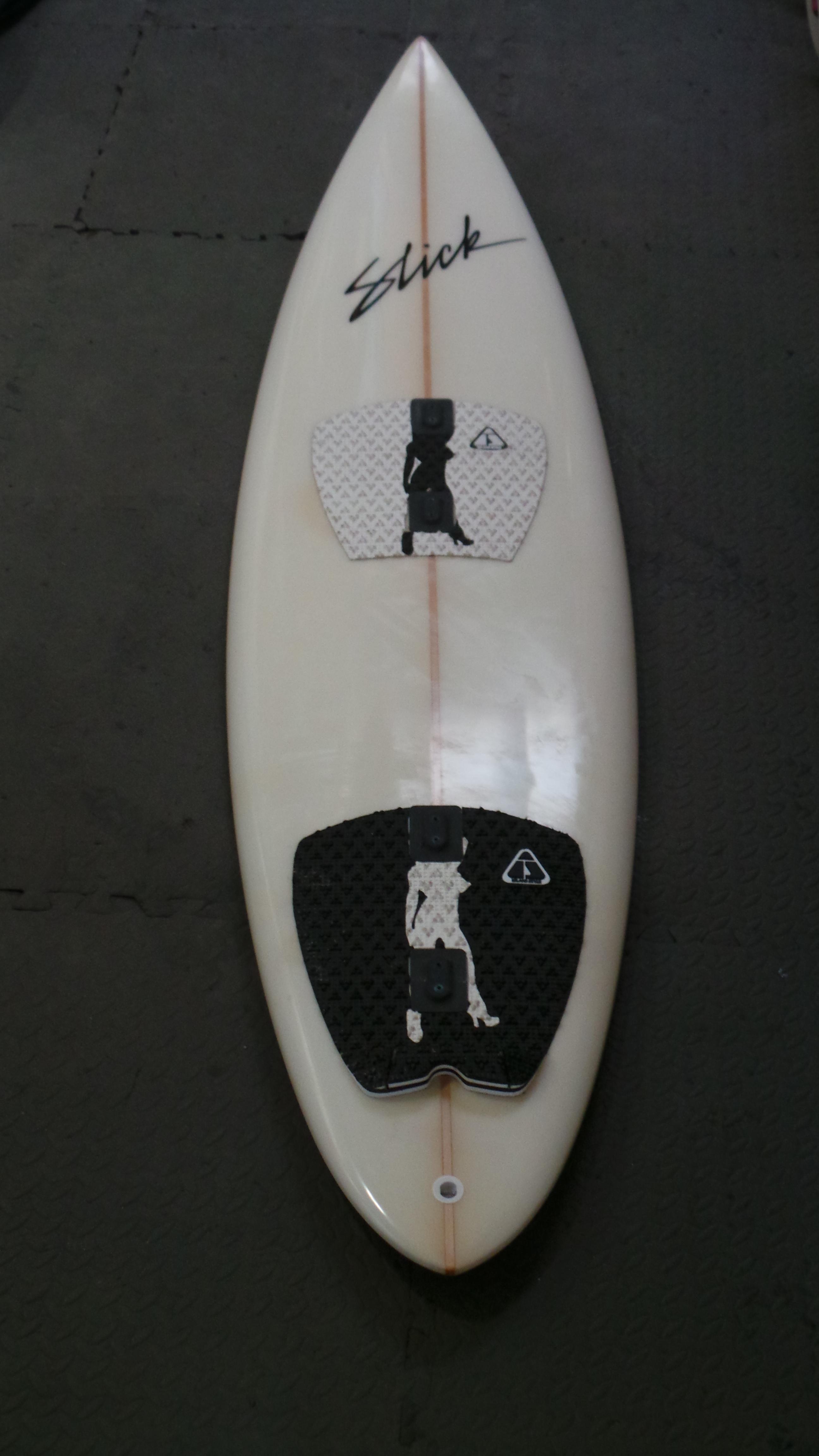 6ft 3in Slick Tow-in Board