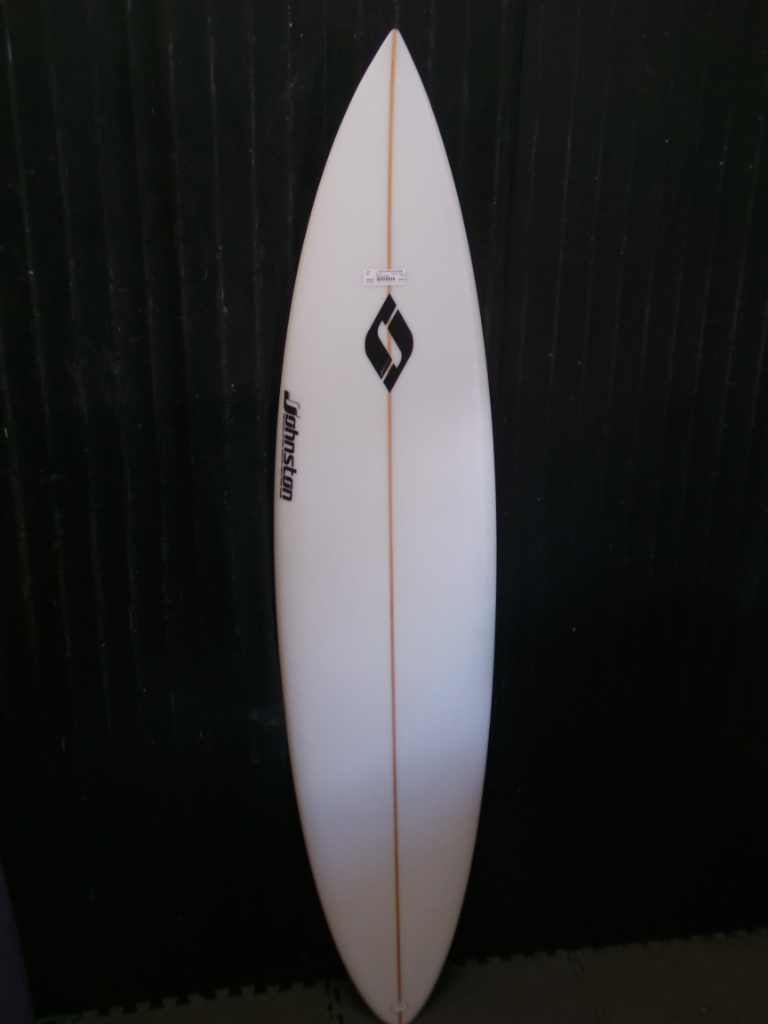 6ft 11in R Johnston Pin Tail Ref 15218 Used Surfboards Hawaii