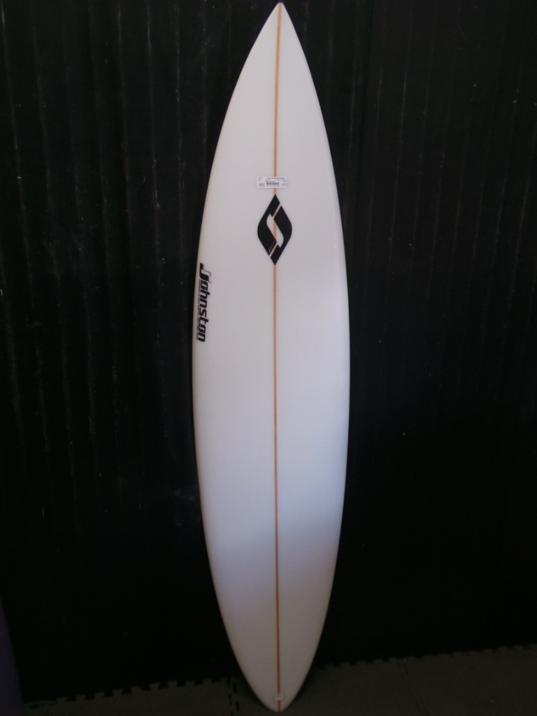 6ft 11in R Johnston Pin Tail Ref 15218 Used Surfboards