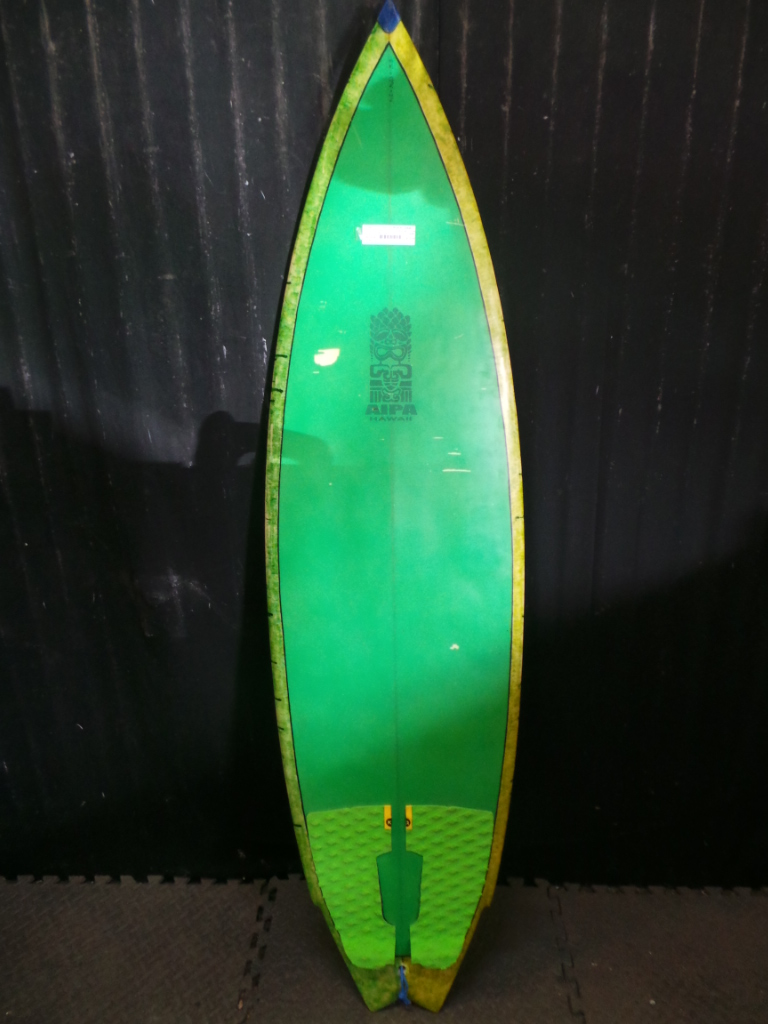 5ft 6in Akila Aipa Swallow Tail Ref 15898 Used Surfboards Hawaii