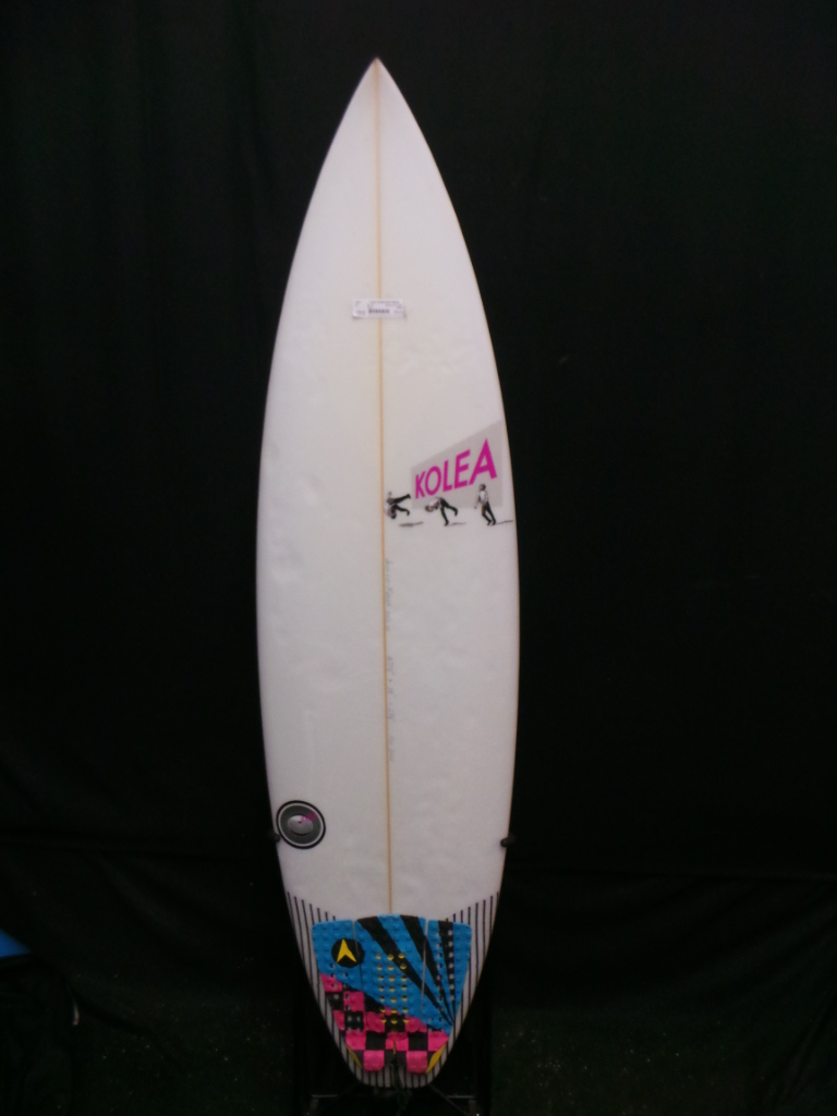 6ft 1in Kolea Squash Tail Ref 20002 Used Surfboards Hawaii