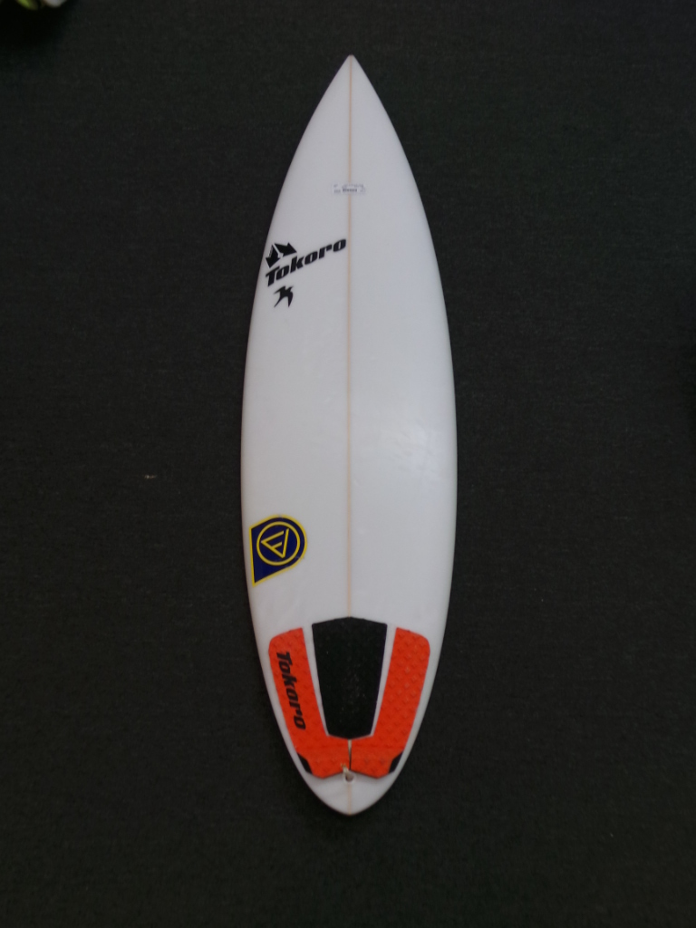 5ft 10in Tokoro Round Pin Ref 20298 Used Surfboards Hawaii