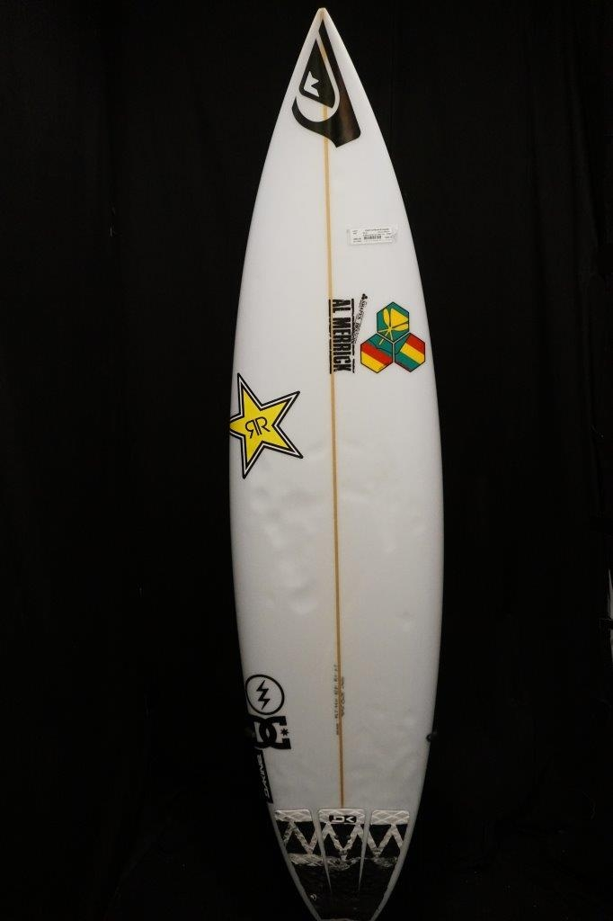 6ft 8in Al Merrick From Pro Surfer Ezekiel Lau Round Tail Glass Fin
