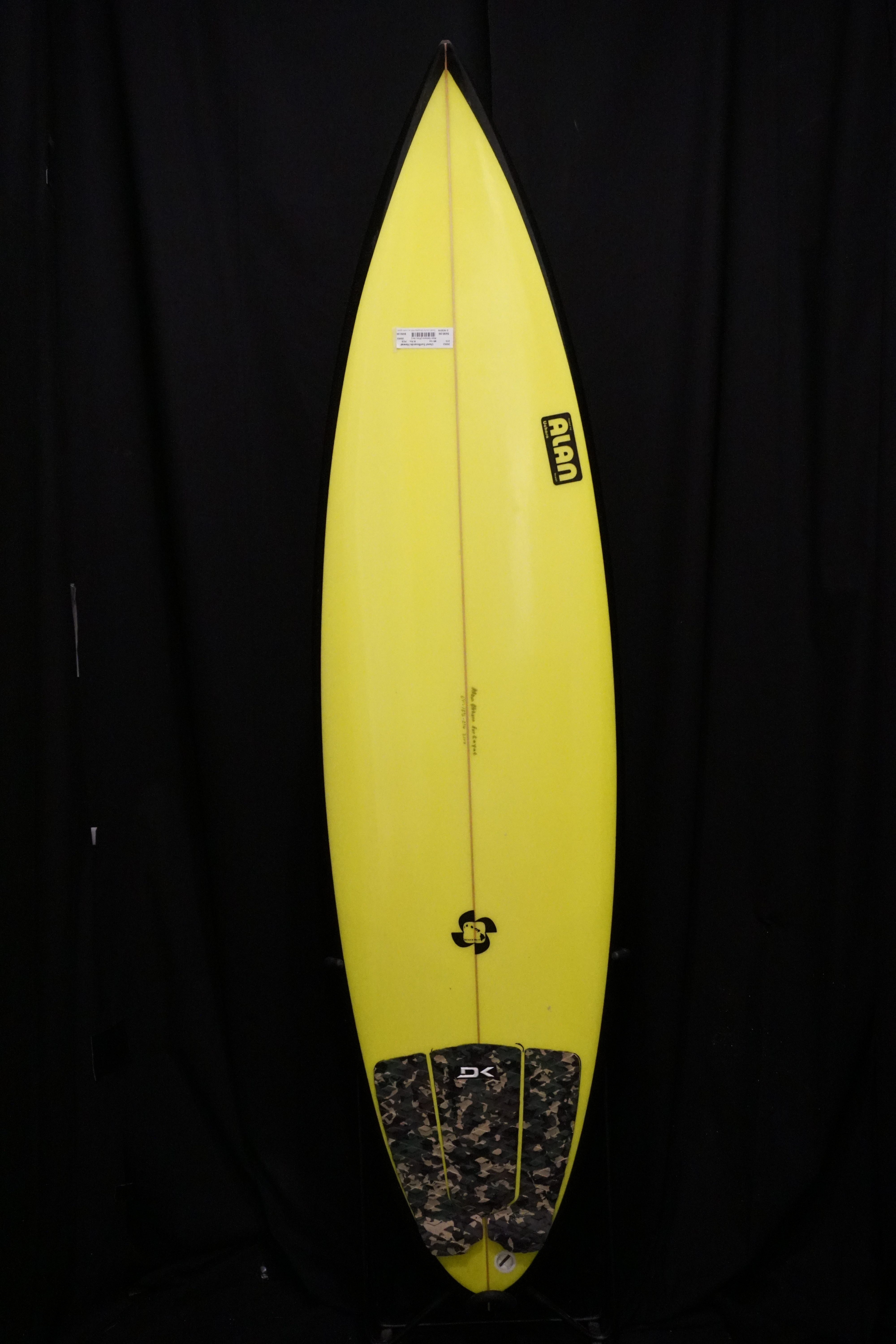 6ft 1in Alan Round Pin Ref 25853 Used Surfboards Hawaii